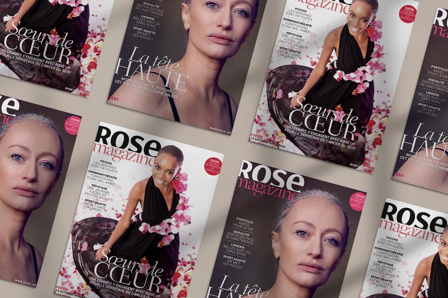 octobre rose Loop Rose Up magasine